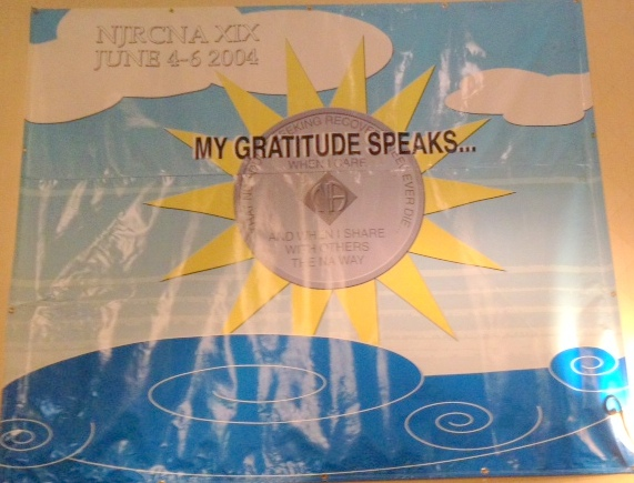 My Gratitude Speaks June 2004 NJRCNA XIX